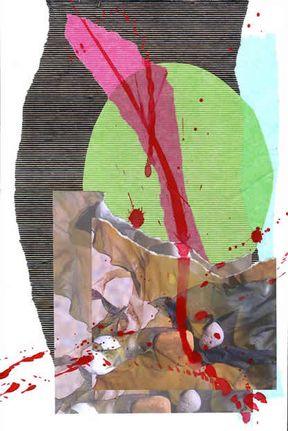 027 - strand. Collage by David Smith