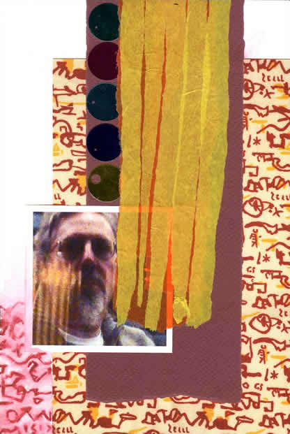 067 - personal reflections on Patrick Heron. Collage by David Smith