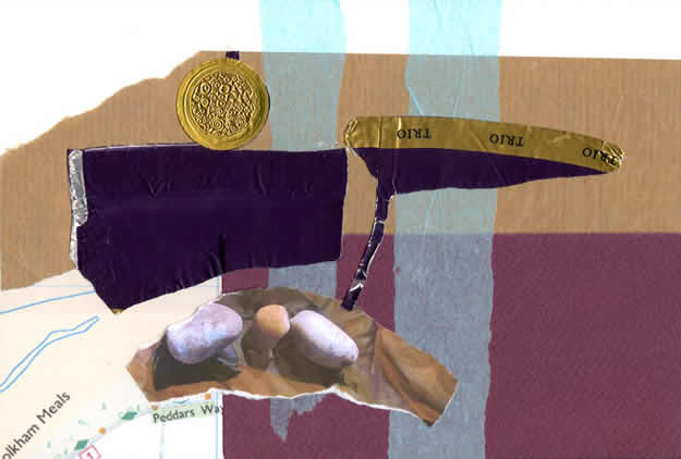 069 - yardarm. Collage by David Smith