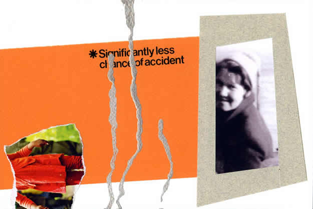 070 - she thought it was Barry but couldn't be certain. Collage by David Smith