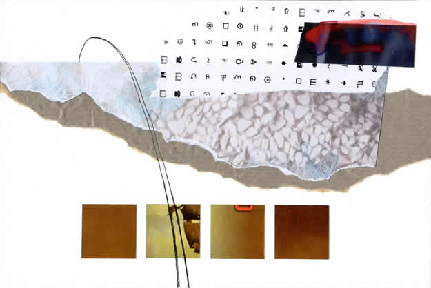 141 - the pitch of random uncertainties. Collage by David Smith