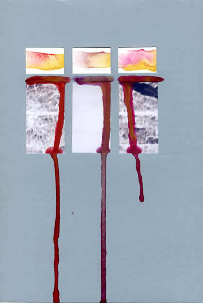 184 - chemical change. Collage by David Smith