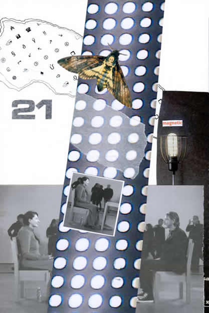 205 - magnetic Marina. Collage by David Smith